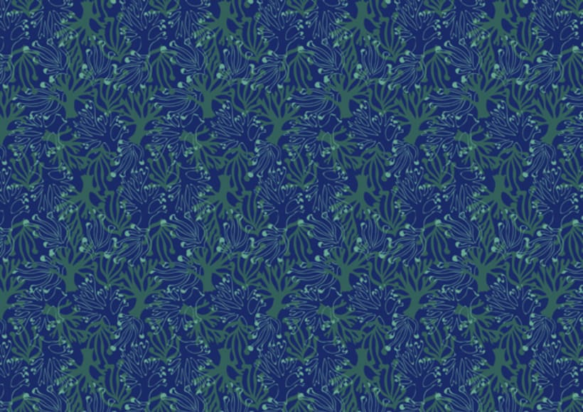 Tropical Waters - Pattern Collection - 6