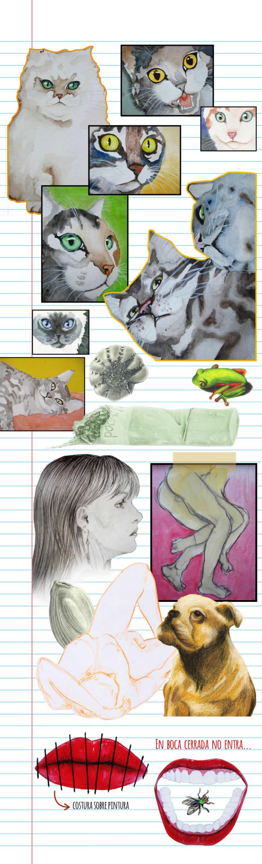 Acuarelas, dibujos y tonterías -1