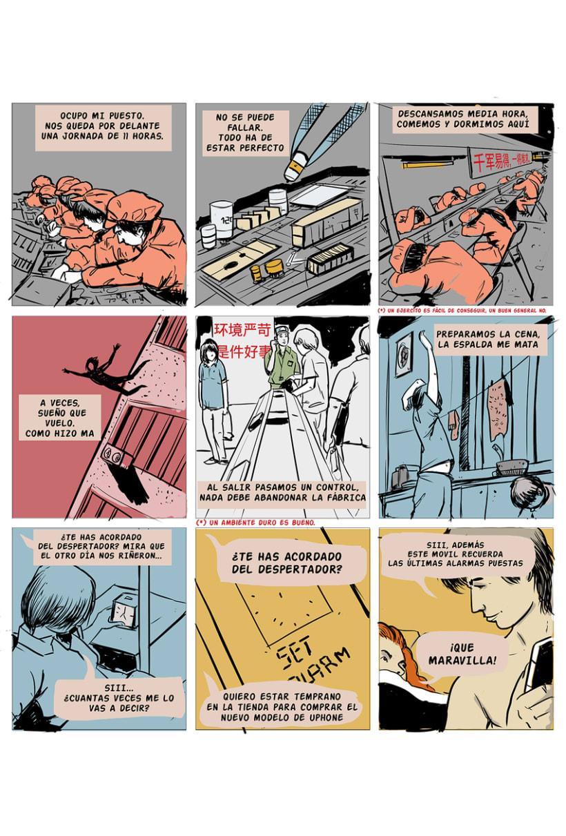 """Mi Proyecto del curso El cómic es otra historia . """"REDES 1"""
