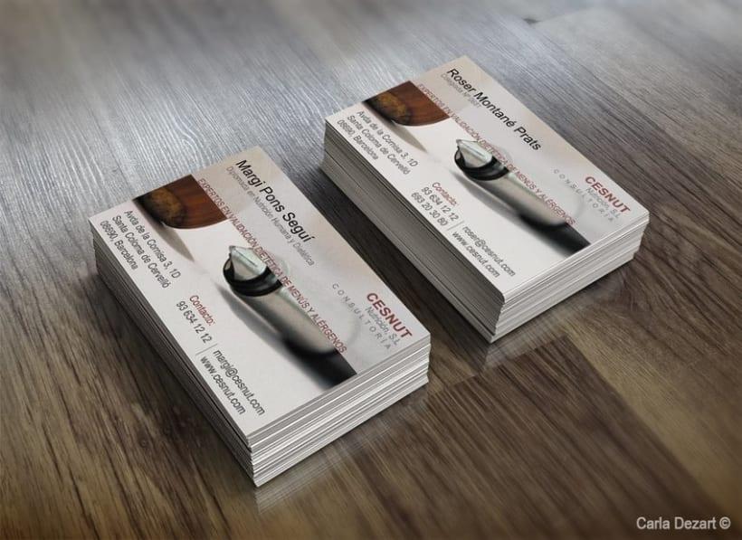 Business Card: CESNUT 0