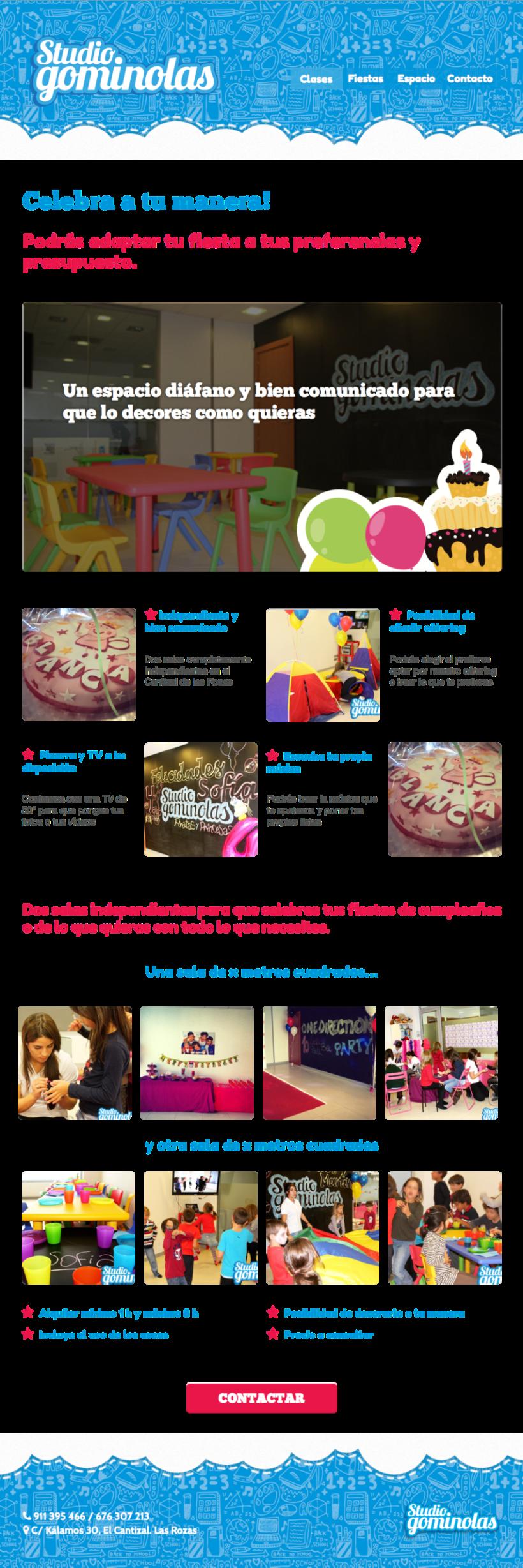 Rediseño web Studio Gominolas 4
