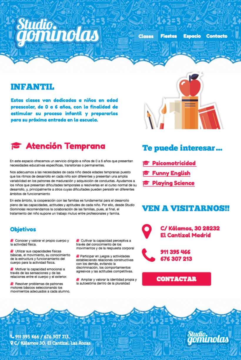 Rediseño web Studio Gominolas 6