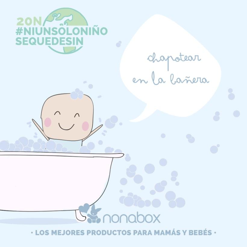 Ilustraciones campaña viral: día internacional del niño  3