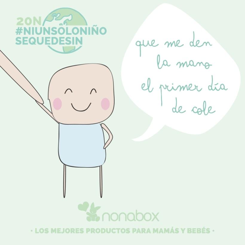 Ilustraciones campaña viral: día internacional del niño  4