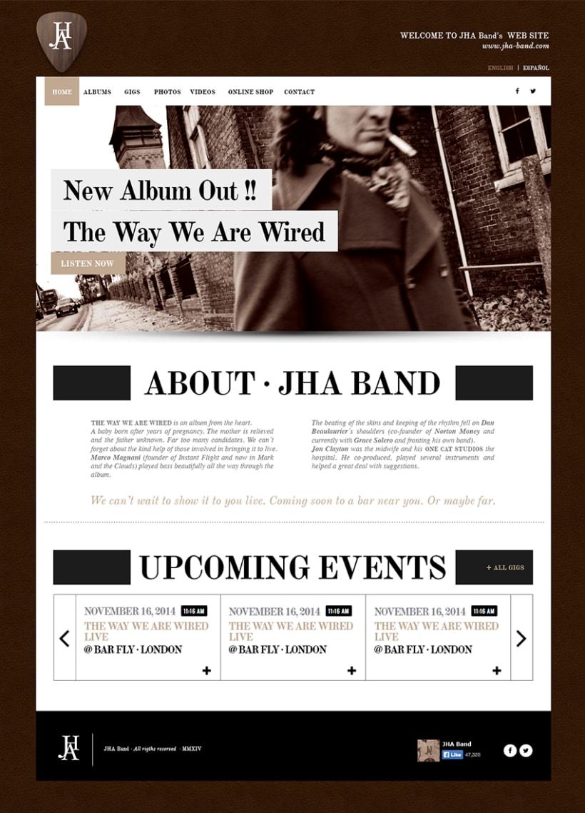 JHA · Website · 2