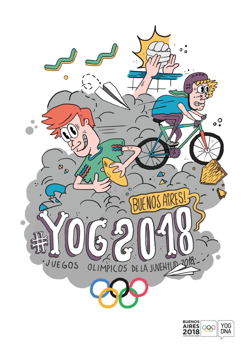 YOG // Juegos Olimpicos de la Juventud 2018 5