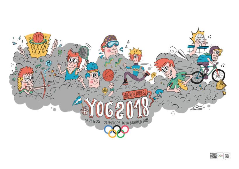 YOG // Juegos Olimpicos de la Juventud 2018 8