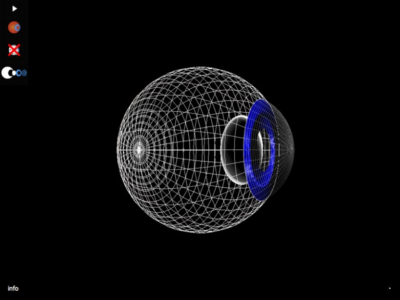Demo Ojo 3D three.js 2