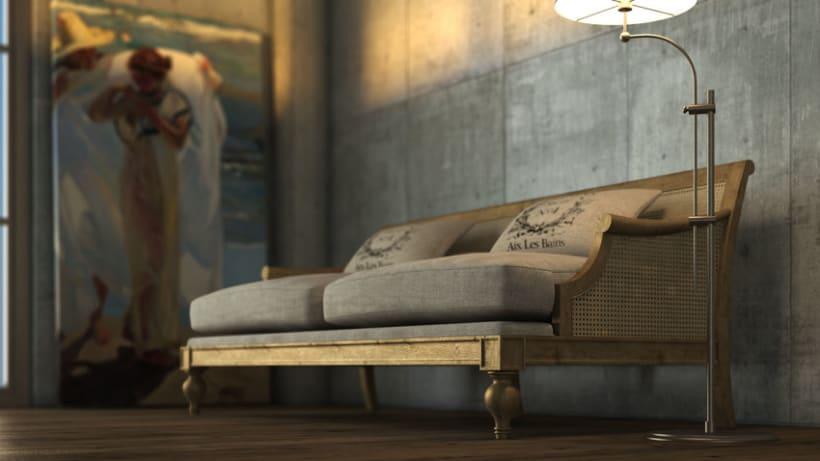 Sofá Vintage 0