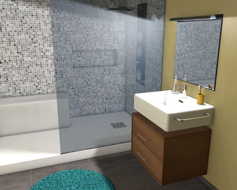 3D Bathroom -1
