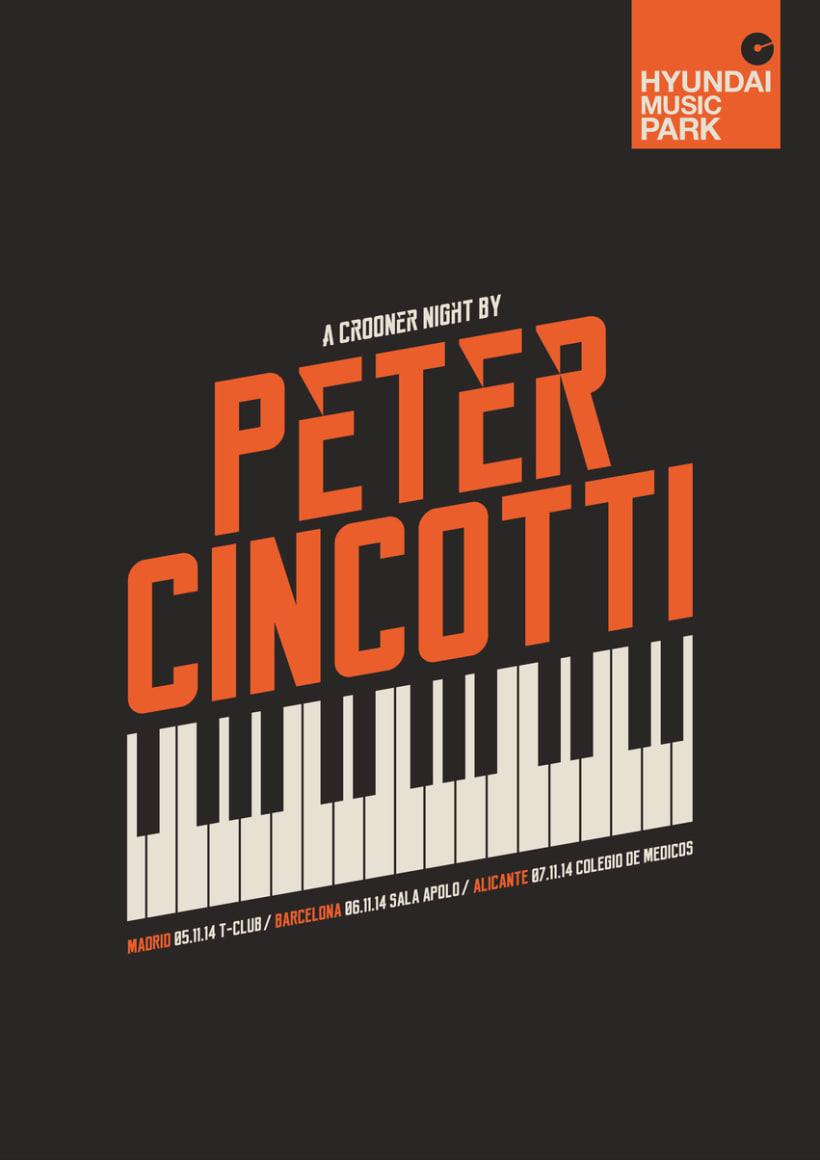 Hyundai Music Park: cartel Peter Cincotti -1