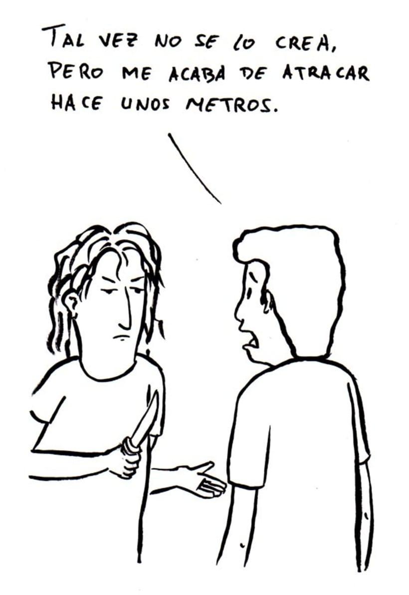 Con más o menos gracia - Comic 7