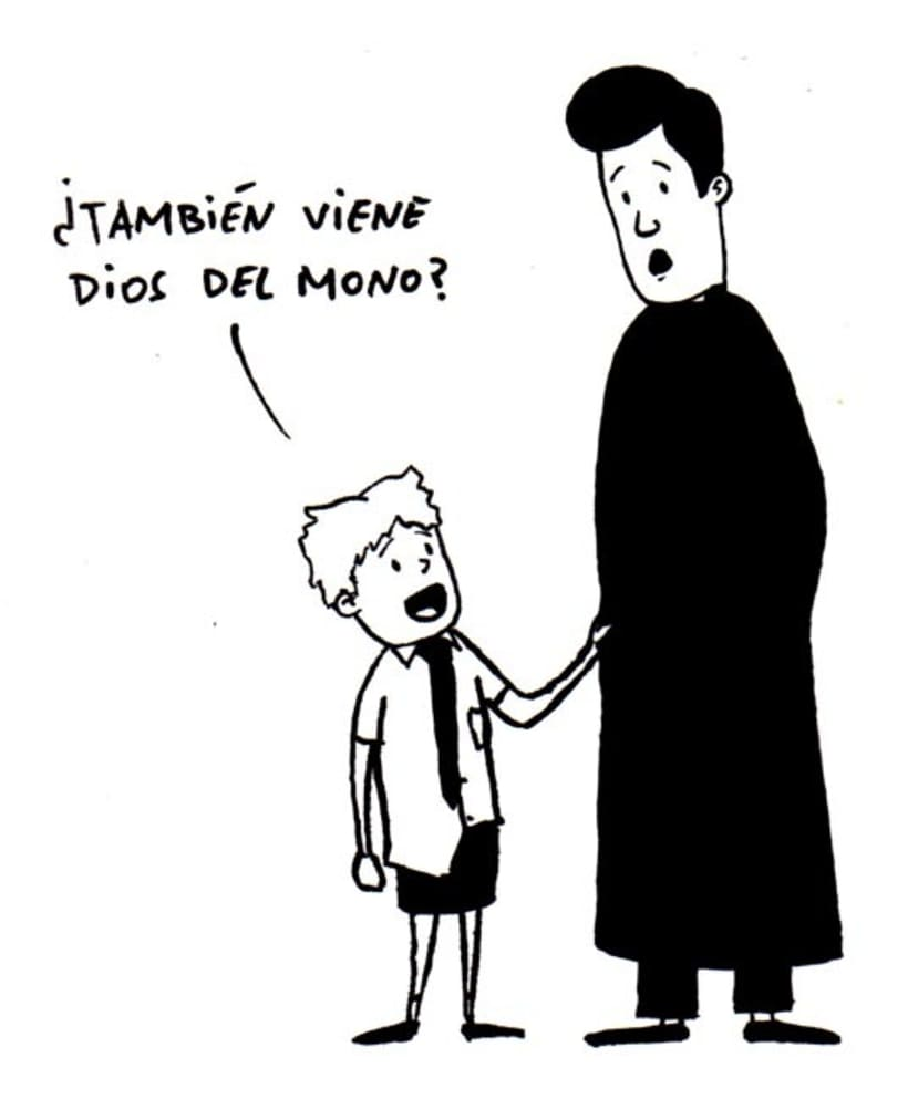 Con más o menos gracia - Comic 14