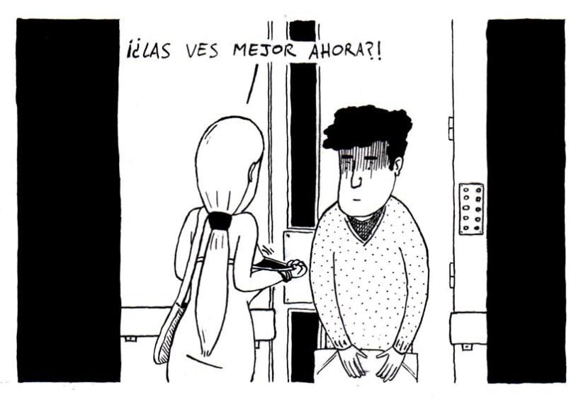 Con más o menos gracia - Comic 25