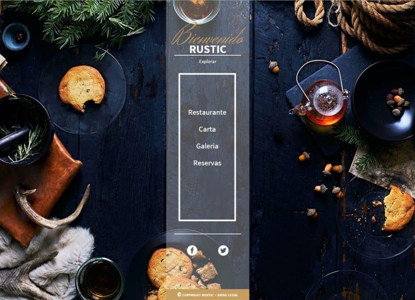 Rustic web 1