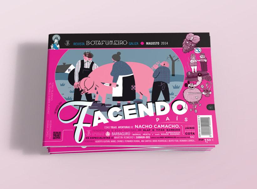 Botafumeiro, Revista Digital 0