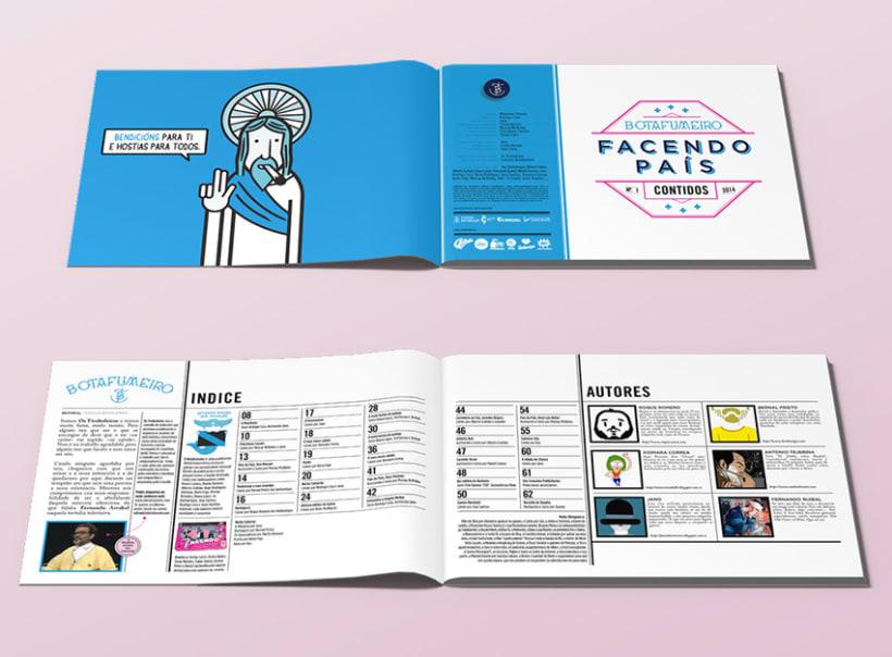 Botafumeiro, Revista Digital 1