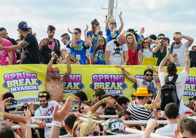 Spring Break Invasion  2014 14