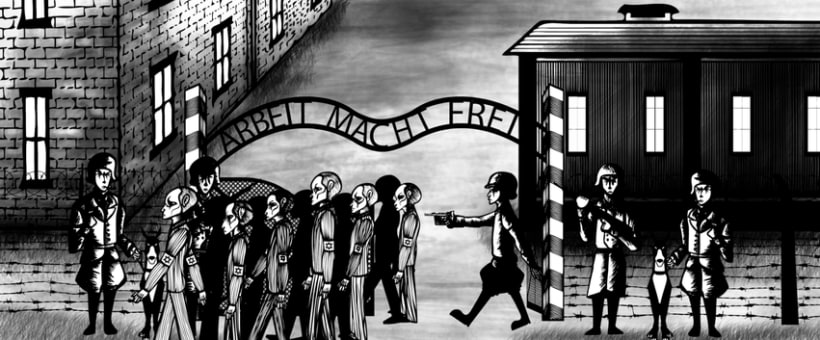 Animation of Nazi Holocaust for a UK Production Agency 14