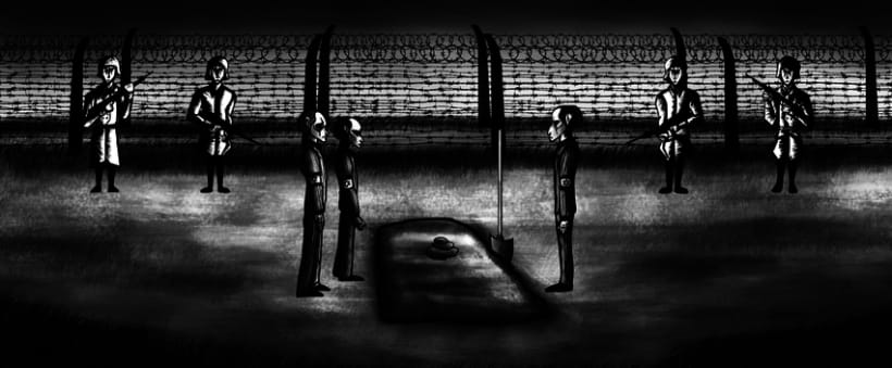 Animation of Nazi Holocaust for a UK Production Agency 15