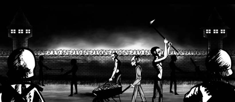 Animation of Nazi Holocaust for a UK Production Agency 13