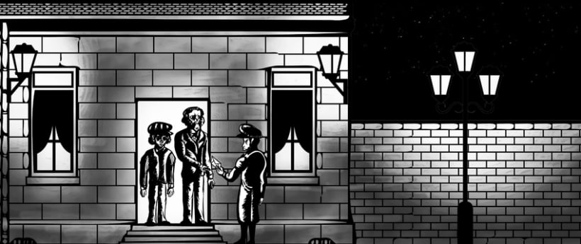 Animation of Nazi Holocaust for a UK Production Agency 2