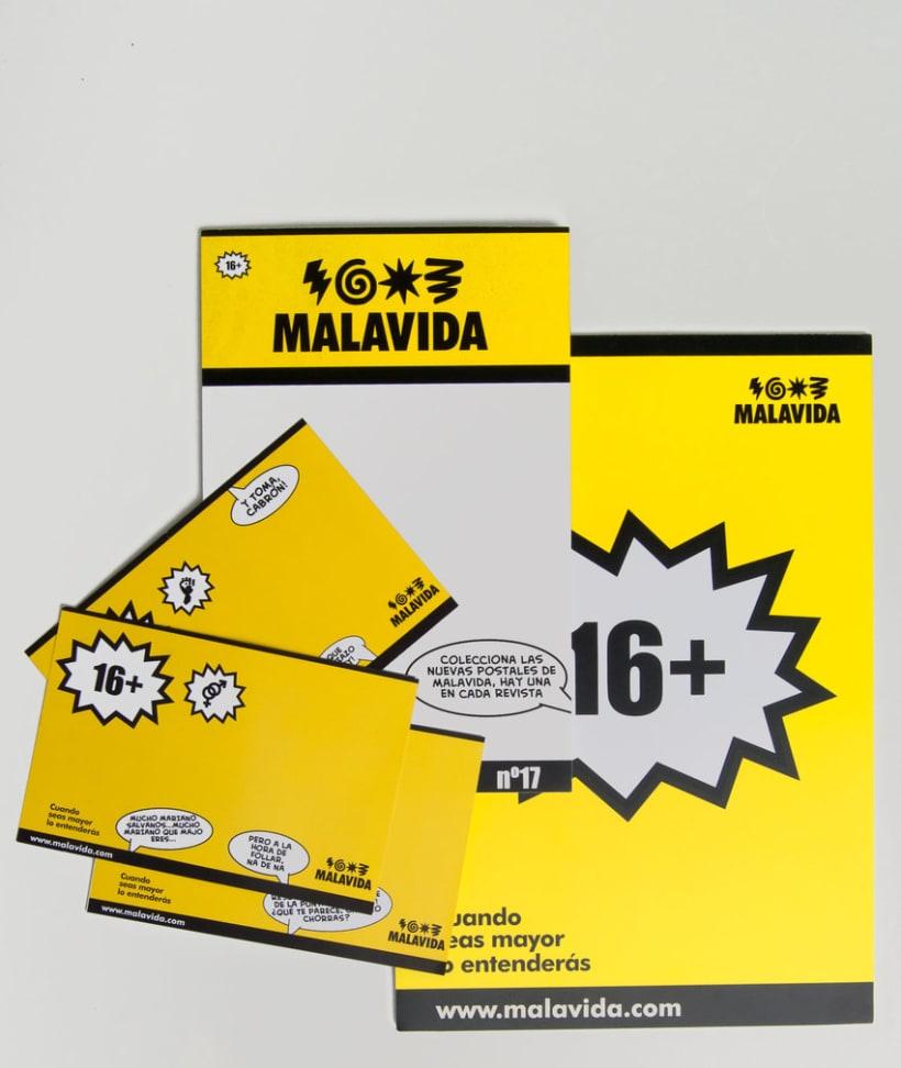 """""""Malavida""""Rediseño imagen corporativa y aplicaciones  -1"""