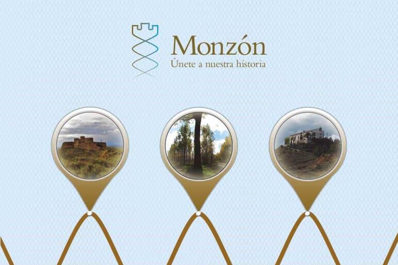 """Imagen corporativa y aplicaciones """"Monzón"""" 4"""
