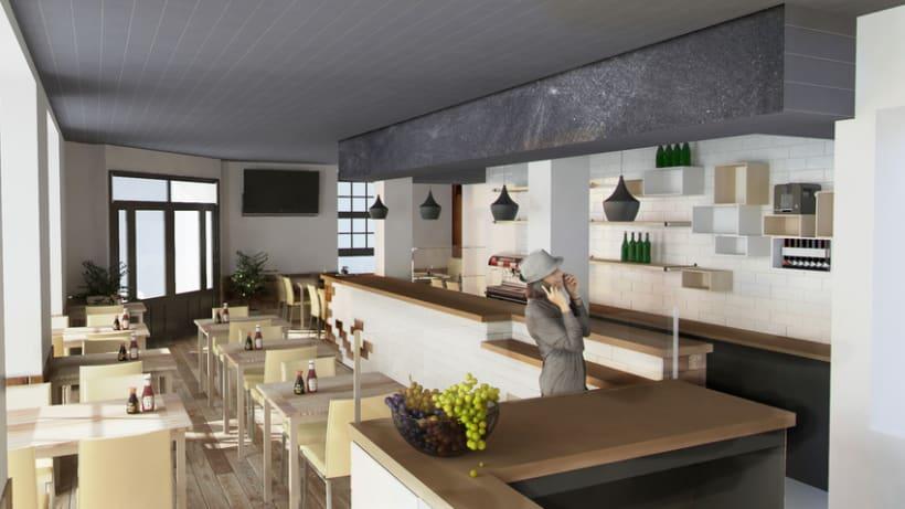 3D Cafetería en Goya -1