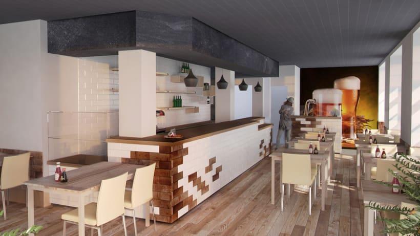 3D Cafetería en Goya 0