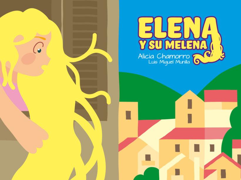ELENA Y SU MELENA 1