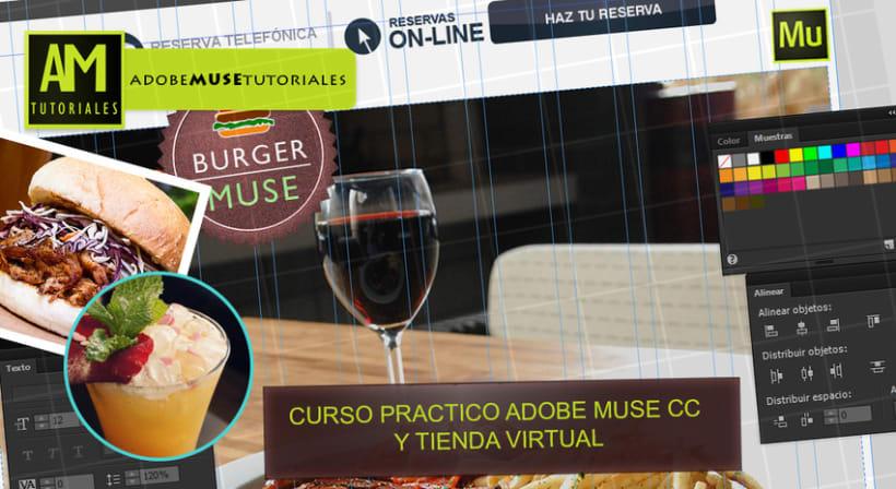 CURSO COMPLETO ADOBE MUSE CC + TIENDA VIRTUAL (actualizacion 2014.3) 0