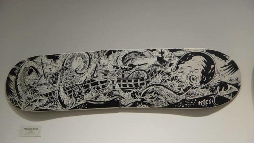 Tablas de skate y longboard personalizadas -1