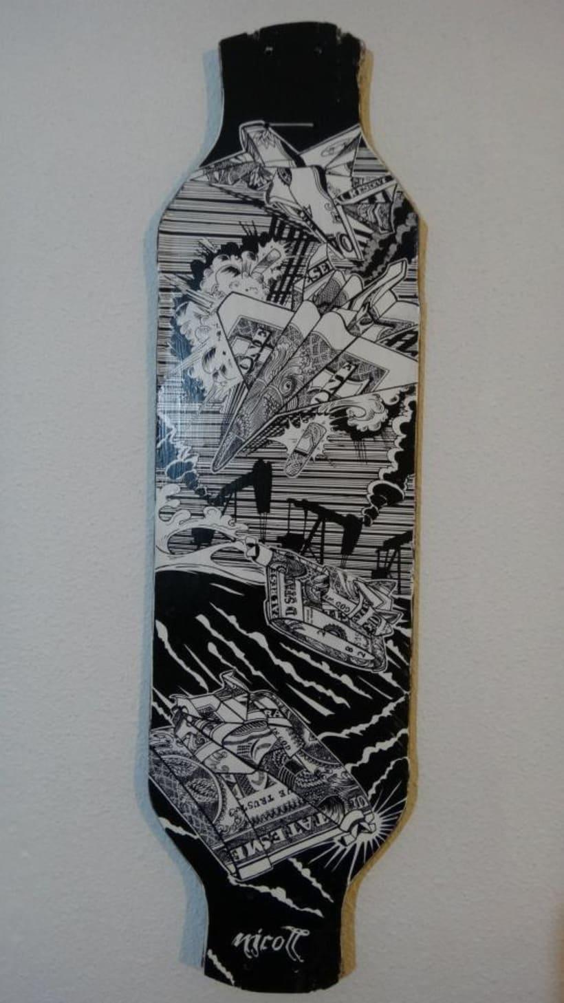 Tablas de skate y longboard personalizadas 0