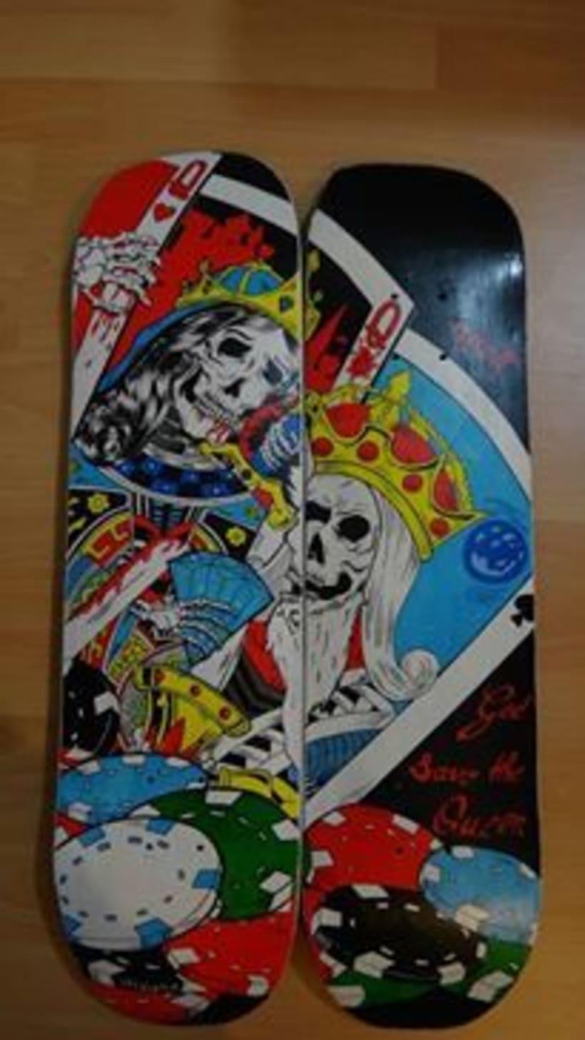 Tablas de skate y longboard personalizadas 3
