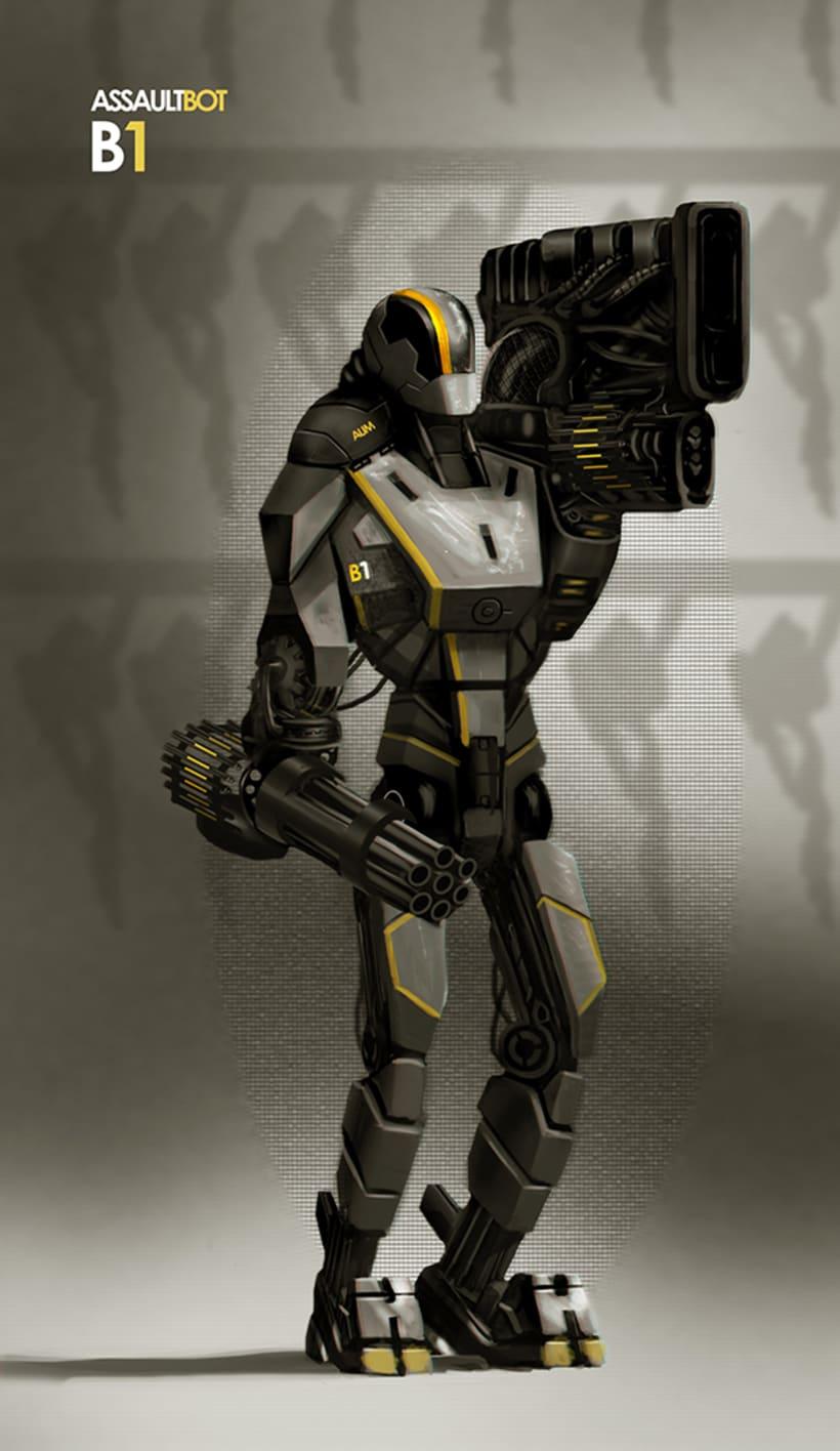 AssaultBot -1