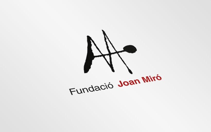 Fundació Joan Miró 1
