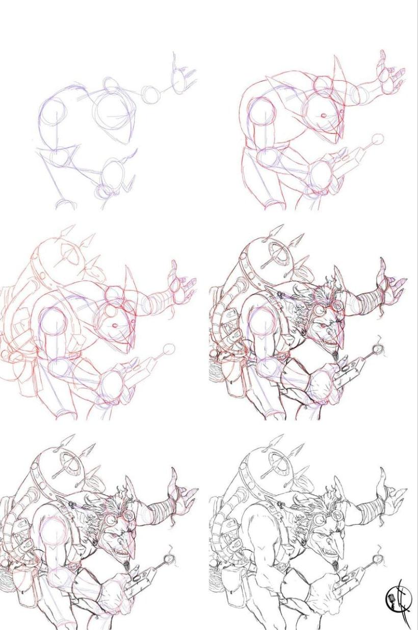 Goblin Illustration 0