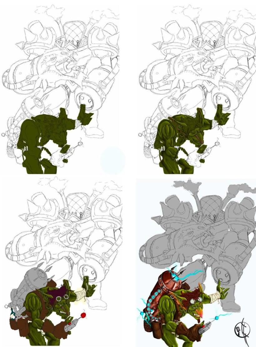 Goblin Illustration 2
