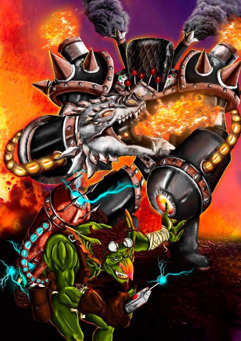 Goblin Illustration 4