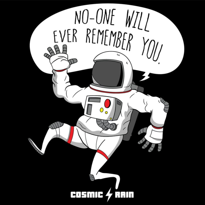 Cosmic Rain t-shirt designs -1