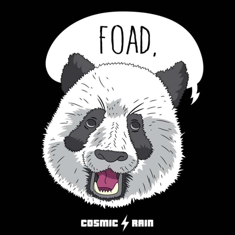 Cosmic Rain t-shirt designs 4