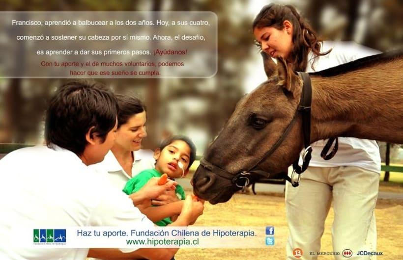 Campaña Hipoterapia Chile  0