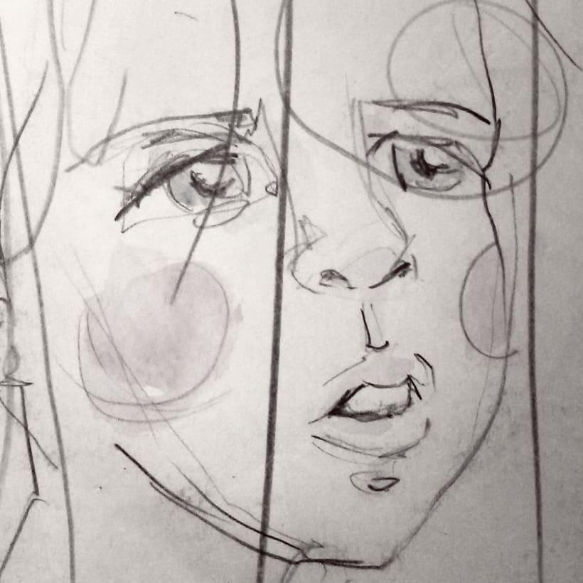 Sketches - Bocetos 7