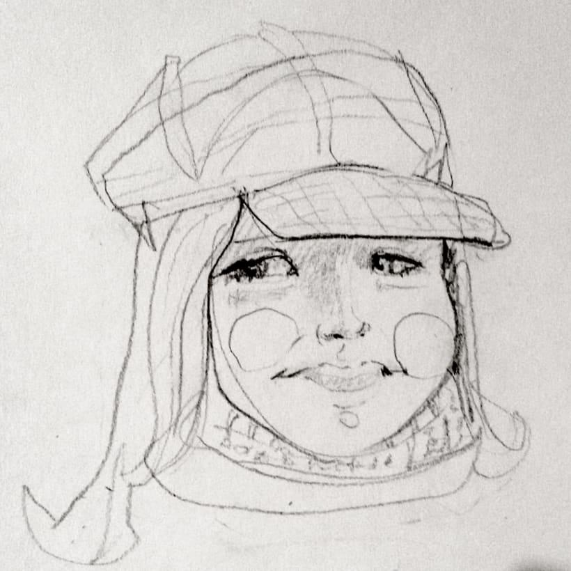 Sketches - Bocetos 12