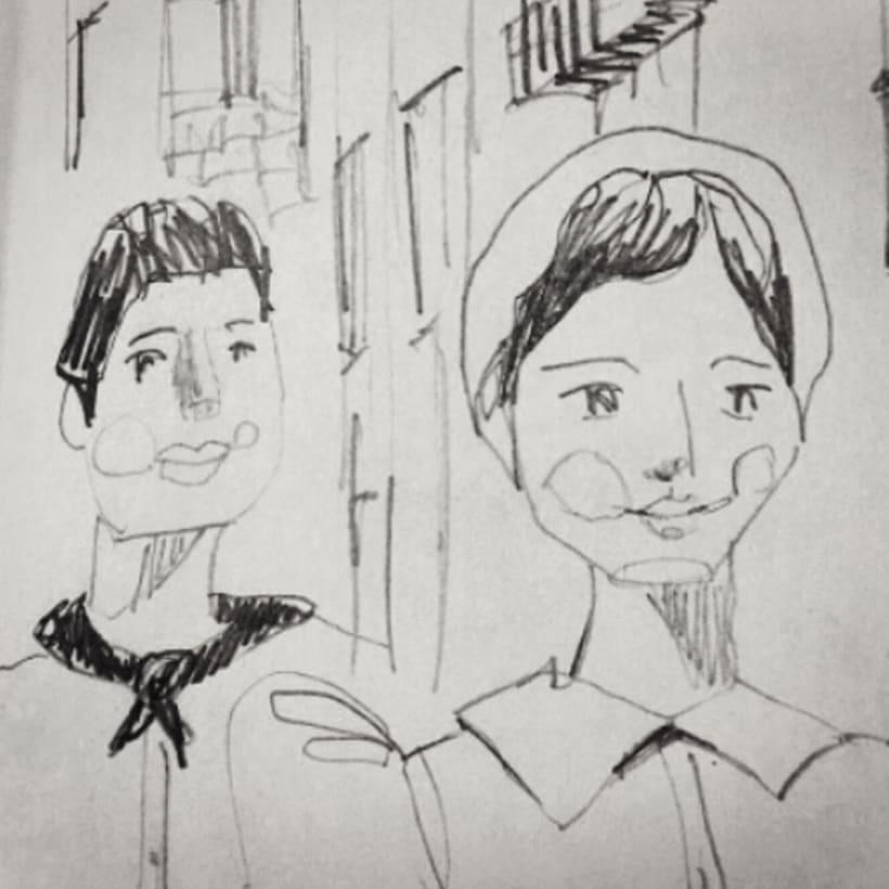 Sketches - Bocetos 14