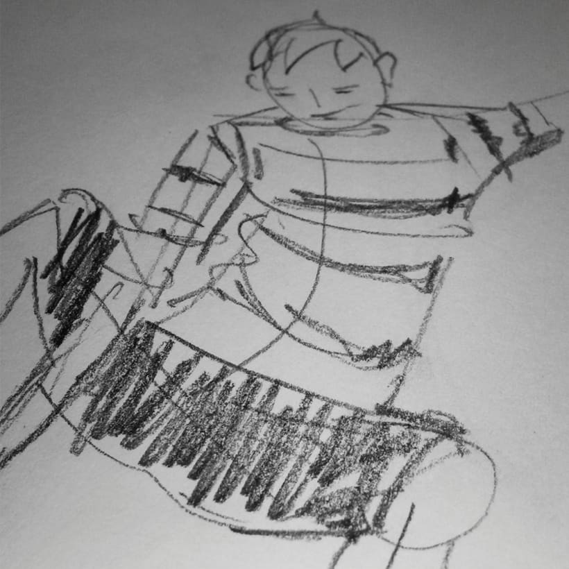 Sketches - Bocetos 13