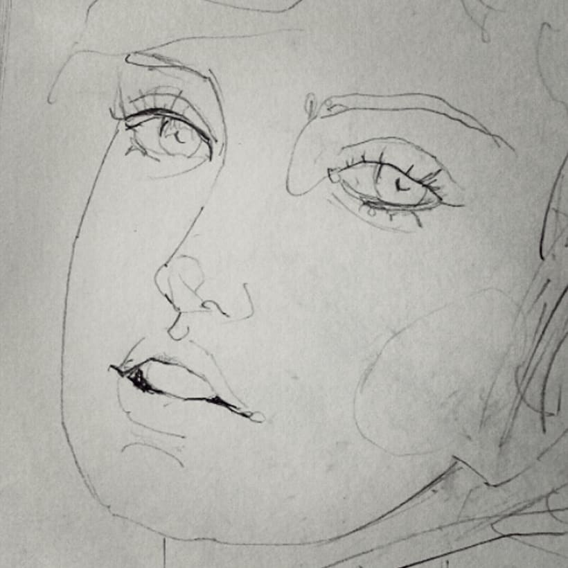 Sketches - Bocetos 11