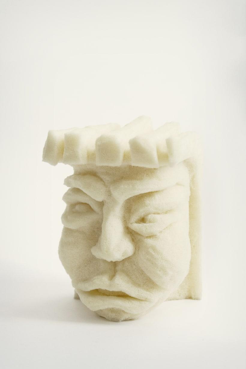 Esculturas con Látex Viscoelástico 1