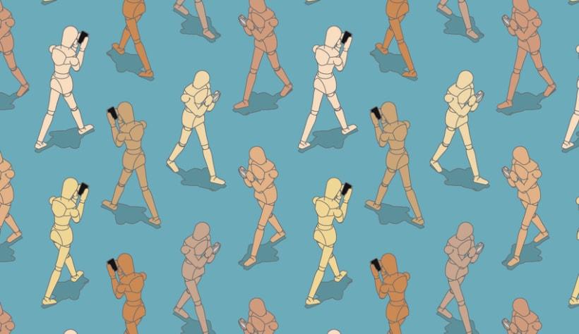 """Ilustración """"Smartphones"""" 3"""